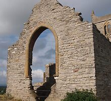 Ruined Church in Somerset - 5 by kalaryder