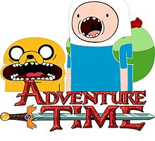 Adventure time Jake and Finn by Jungyoomi