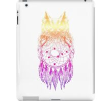Dreamy Owl_Multi Pink iPad Case/Skin