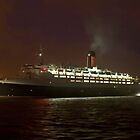 QE2 Greenock by Ian Johnston