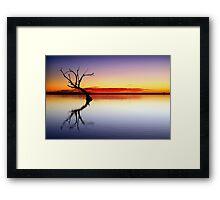 Tranquil Lake Framed Print