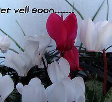 Get well soon - 2 by Sharon Perrett