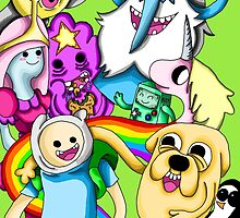 Adventure Time! by SarahShockwave