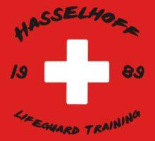 Hasselhoff Lifeguard Training - Black by GreenGamer