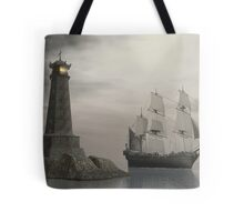 Passing Last Point Home Tote Bag