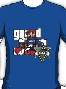 Grand Theft Auto V Mario Kart T-Shirt