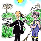 keep off the grass by adey  bryant