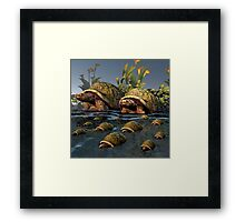 Moving To Deepier Waters Framed Print