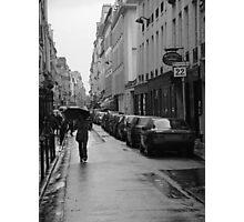 Woman in the Rain, Rue Jacob Photographic Print
