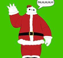 Santa Baymax Fist Bump by Ztw1217