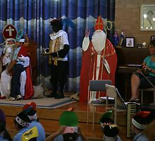 Today IS!! 5 December. St Nicholas Day (Sinterklaas Dag). One more picture! by MrJoop