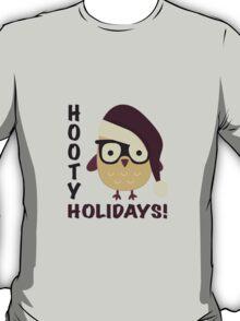 Hipster Hooty Holidays! T-Shirt