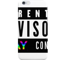 Parental Advisory Gay Content iPhone Case/Skin