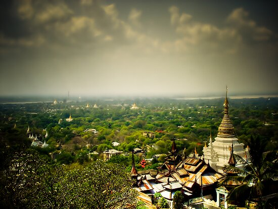 Sagaing Hill by Murray Newham