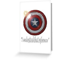 That Reference Greeting Card