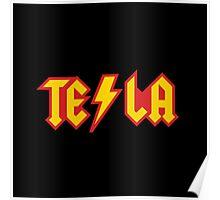 Tesla vs. AC/DC (Monsters of Grok) Poster
