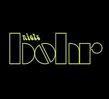 Niels Bohr /  The Doors (Monsters of Grok) by amorphia