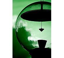 Alien Green Photographic Print