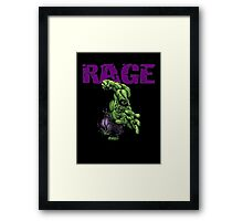 HULK RAGE!!!!! Framed Print