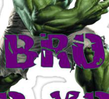 Hulk Swole Sticker