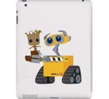 WALL-E and Groot iPad Case/Skin