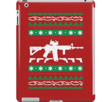 AR-15 Ugly Christmas Sweater iPad Case/Skin
