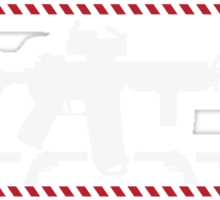 AR-15 Ugly Christmas Sweater Sticker