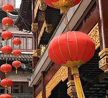 red lanterns by kathywaldron