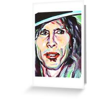 Human Face. Expression 14 Greeting Card