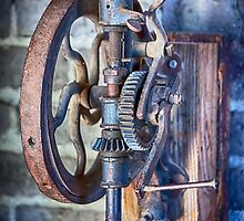 Vintage Blacksmith Drill Press by damhotpepper