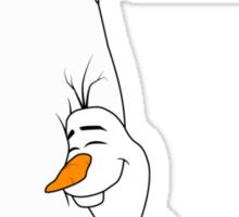 Baymax and Olaf Sticker