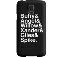 The Scooby Gang Classic White Samsung Galaxy Case/Skin