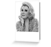Joan Rivers Greeting Card