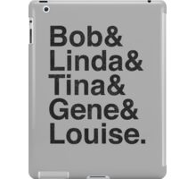 Bob's Brood (Vintage Black) iPad Case/Skin