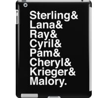The Agents (Classic White) iPad Case/Skin