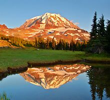 Mt. Rainier Reflections by MarkR