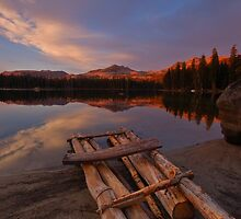 Raft on the Lakeshore by MarkR