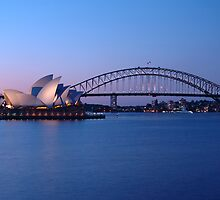 Sydney Icons at Twilight by Gino Iori