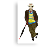The 7th Doctor - Sylvester McCoy Canvas Print