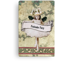 Fruitcake Fairy Canvas Print