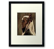 Thranduil Framed Print