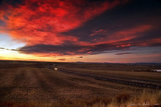 The Sunrise Highway 2 by John  De Bord Photography