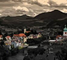 Little town by Kurt  Tutschek