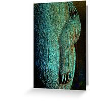 Wounded Bear Greeting Card
