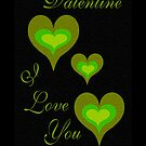 VALENTINE, I LOVE YOU by Madeline M  Allen