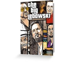 GTA Lebowski Greeting Card