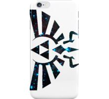 Hyrule crest-- starry print iPhone Case/Skin