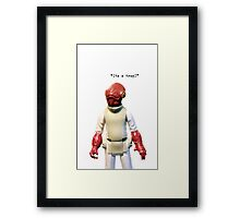 iPhone Case - Admiral A Framed Print
