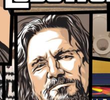 GTA Lebowski Sticker