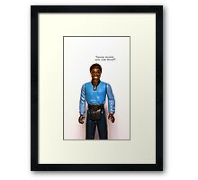 iPhone Case - Lando ESB Framed Print